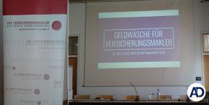 Bild Wirtschaftskammer Wien Vortrag Geldwäsche für Versicherungsmakler