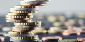 Bild Euro Bargeld Münzen