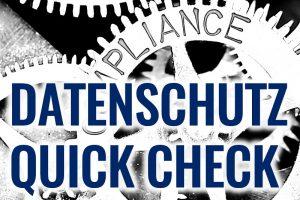 Bild Datenschutz Quick Check