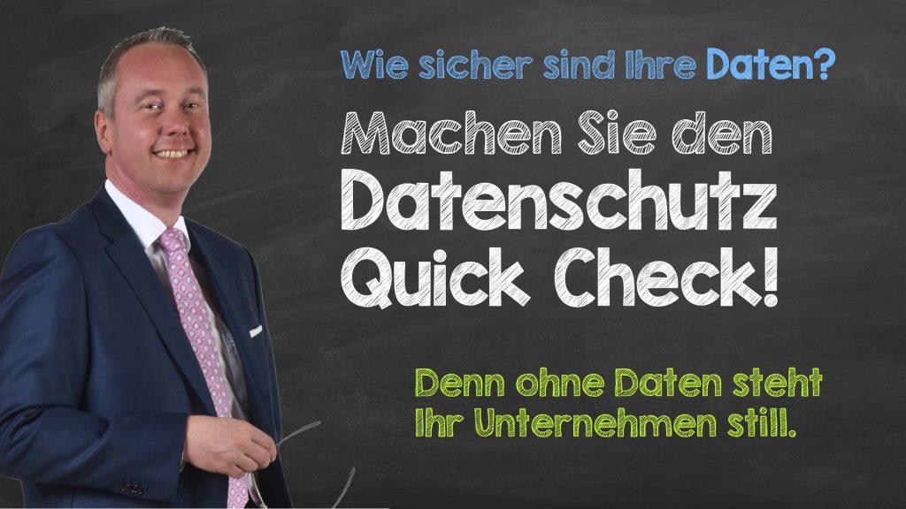 Header Datenschutz Quick Check