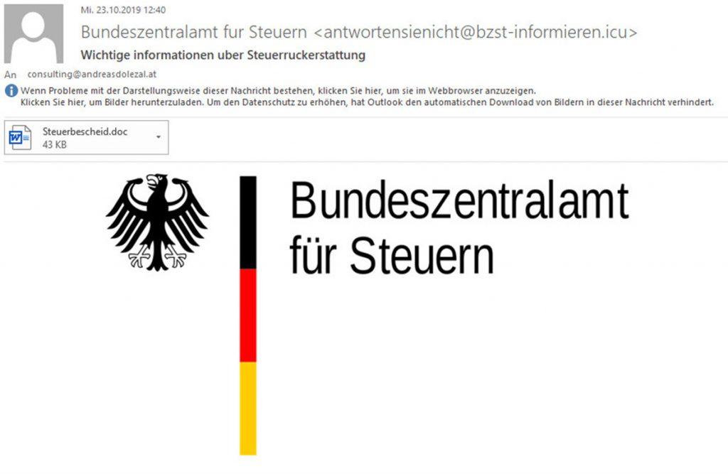 Bild_Spam_Bundeszentralamt_fuer_Steuern
